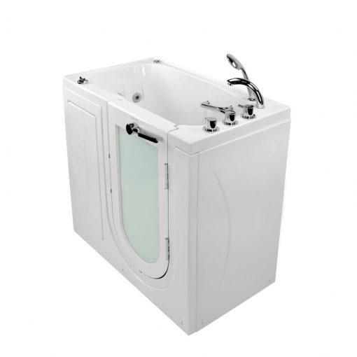 Mobile Acrylic Outward Swing Door Walk In Tub
