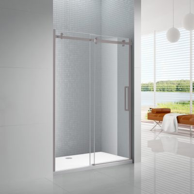 TEMPERED GLASS SHOWER DOORS & ACRYLIC SHOWER BASES