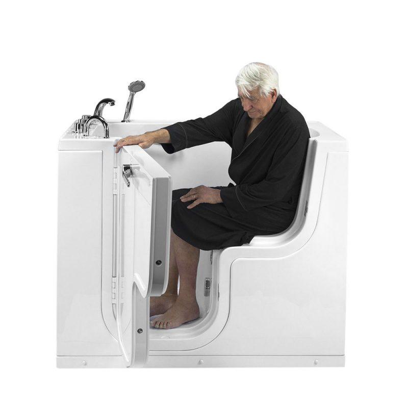 outward swing door Transfer Wheelchair Accessible Walk In Tub