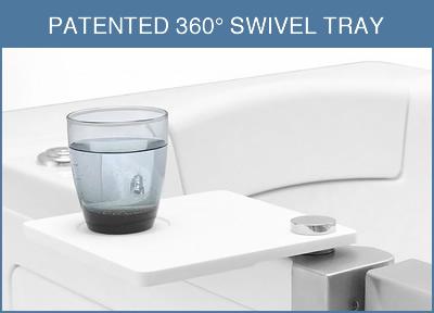 360 SWIVEL TRAY