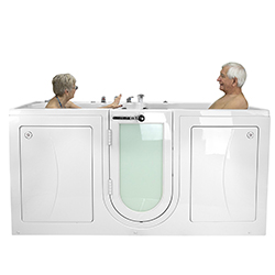 2 seated Walk in tub