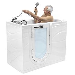 swing door walk-in tubs
